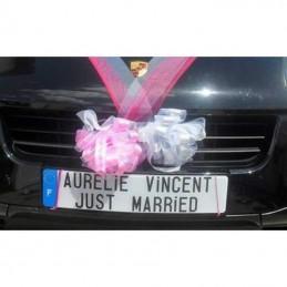 immatriculation spécial mariage