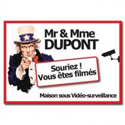 plaque surveillance Oncle Sam