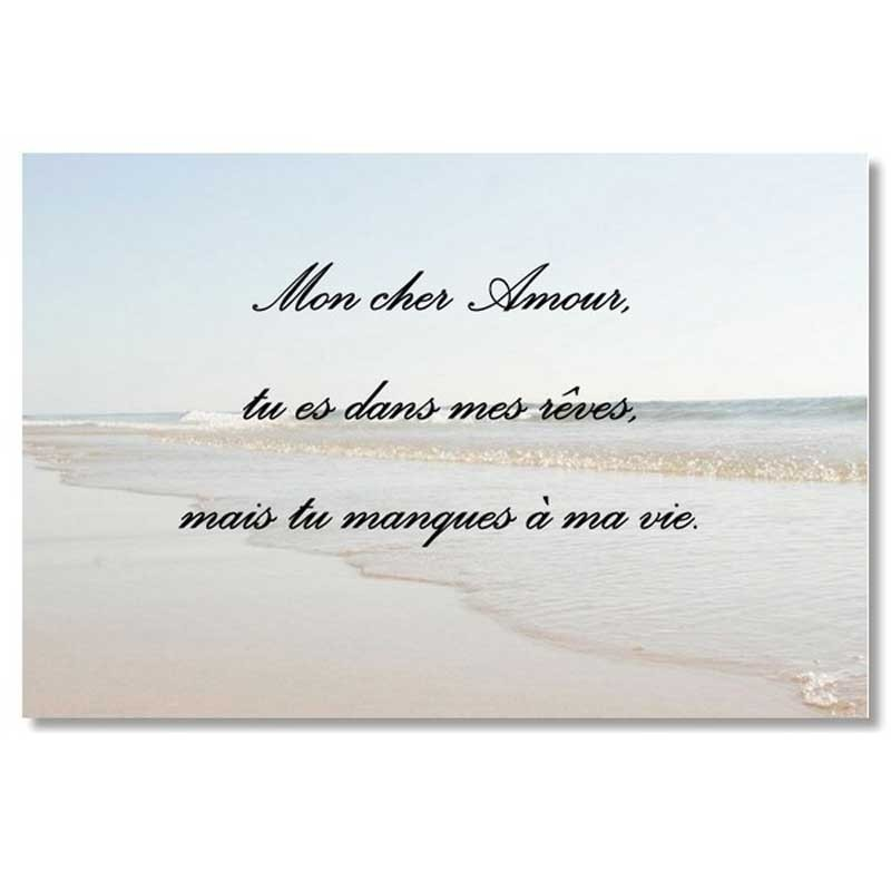plaque impression quadri plexi photo plage