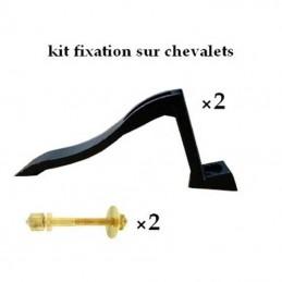 chevalet et kit de fixation plaque funéraire