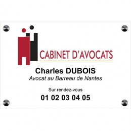 plaque avocat quadri