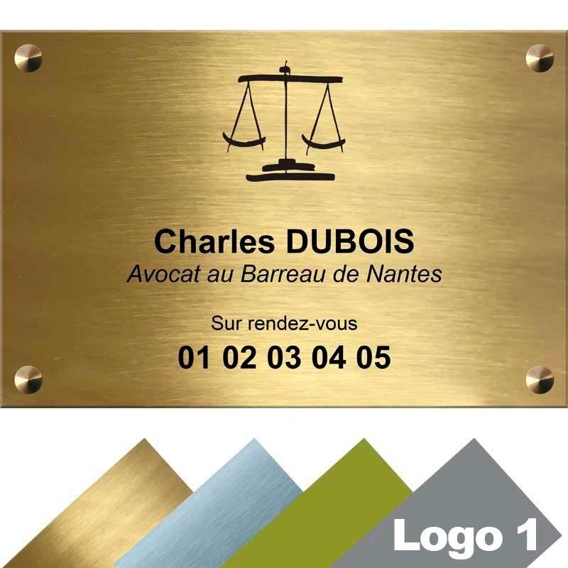 plaque avocat