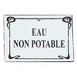 Plaque Signalétique Art Nouveau
