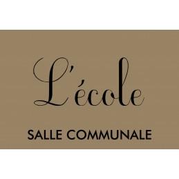 Commande L'ECOLE