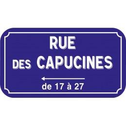 Commande LES CAPUCINES