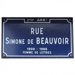 Plaque de rue Lyon