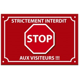 plaque stop intrus