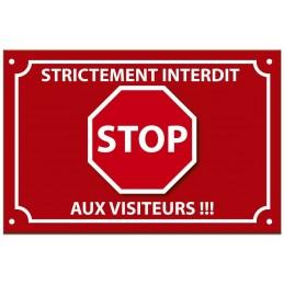 plaque stop intrus