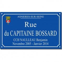 plaque ville Asnières