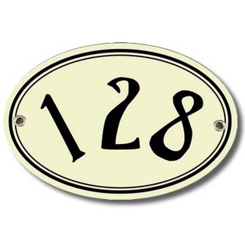 Numéro de maison vintage