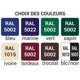 Choix des couleurs