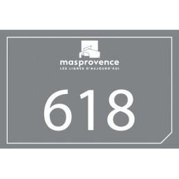 Plaque Mas de Provence