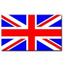 Plaque émaillée drapeau anglais