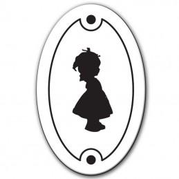 plaque toilettes picto