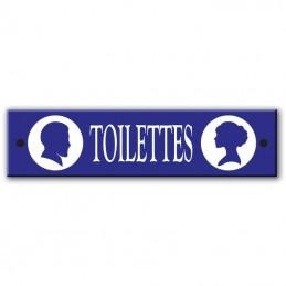 Plaque toilettes homme femme