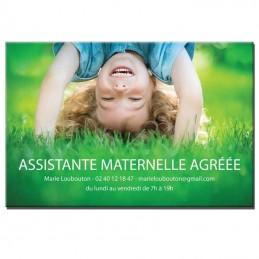 Plaque Assistante Maternelle thème Photo