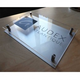 Plaque double Plexi/Alu