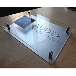 Plaque double Plexi/Alu