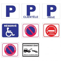 Plaque Parking / Stationnement