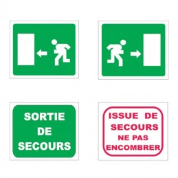 Plaque Issue de Secours