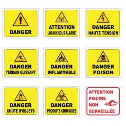 Signalétique danger