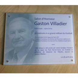 Plaque commémoration