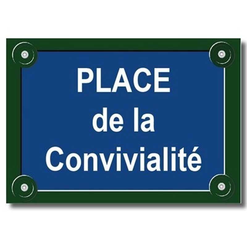 Plaque Parisienne PVC