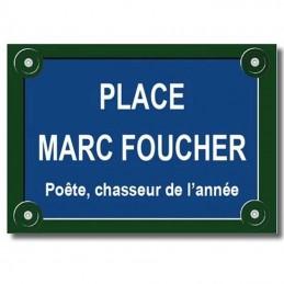 Plaque parisienne cadeau