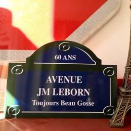 Plaque de rue Parisienne...