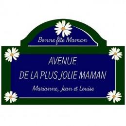 Plaque parisienne Marguerite Cadeau