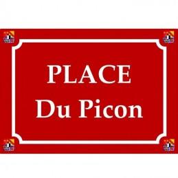 Plaque département 4 blasons