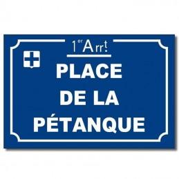 Plaque alu Marseille