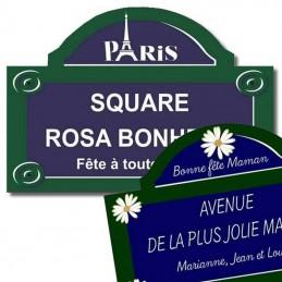 Plaques Paris spéciales