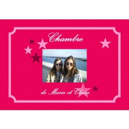 Plaque cadeau photo star