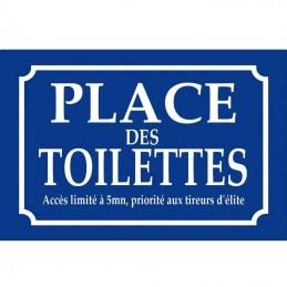 Place des toilettes
