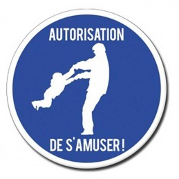 Plaque Porte Autorisation...