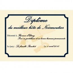 plaque diplôme d'honneur