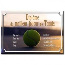 Diplôme Tennis
