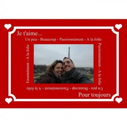 plaque message valentin