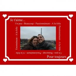 plaque message valentin