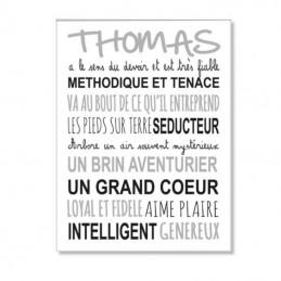 Plaque Prénom et texte...