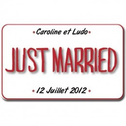 plaque plexi just married
