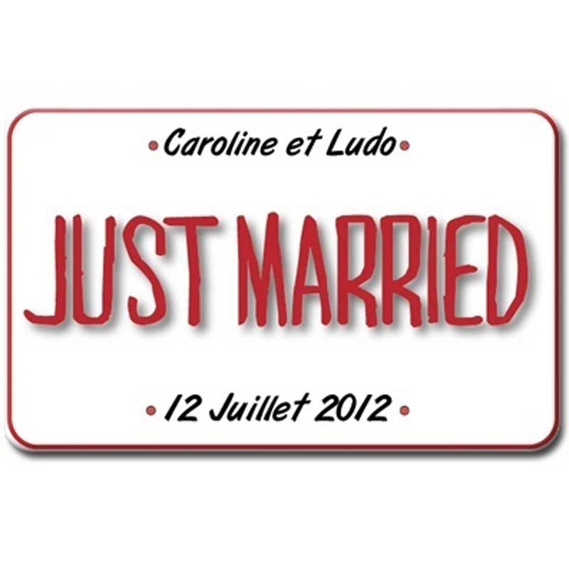 plaque plexi just married