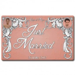 plaque plexi just married photos