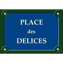 plaque parisienne magnétique