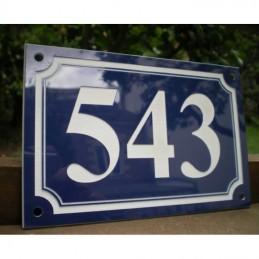 numéro de maison acrylique