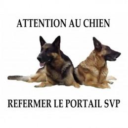 plaque imprimé avec votre chien