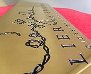 plaque en cuivre