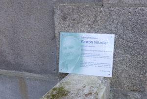 pancarte de commémoration